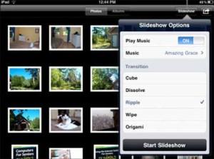 ipad slideshow
