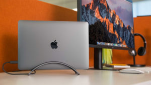Learn more about BookArc, the desktop space-saver available at Austin MacWorks | AustinMacworks.com