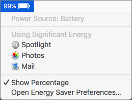Learn how to avoid battery drain from your MacBook
