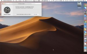 with macOS 10.14 Mojave, Apple moved operating system updates to the new Software Update preference pane | AustinMacWorks.com