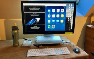 The trick to enabling closed-display mode is that your Mac must be plugged into an AC outlet and you must connect an external keyboard and mouse or trackpad | AustinMacWorks.com