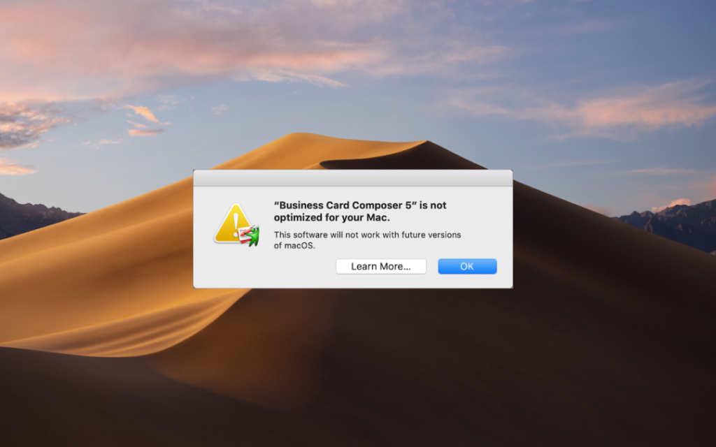 Have you seen dialogs warning that an app isn't optimized for your Mac? Here's what's going on, what you should do, and when you should do it | AustinMacWorks.com