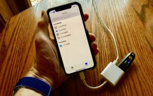 A welcome and useful new feature of iOS 13 and iPadOS 13 is support for external storage devices. But it's not easy to find or figure out—and you likely need a special adapter for your existing USB devices | AustinMacWorks.com
