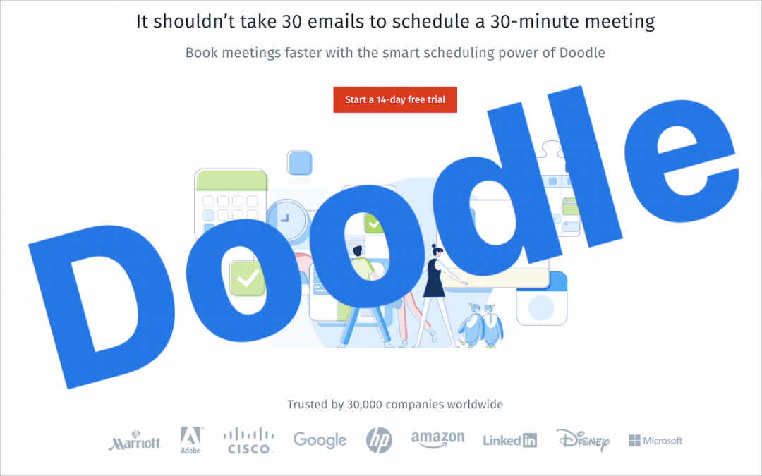 Need to Schedule a Group Meeting or Sign Up Volunteers? Try Doodle!