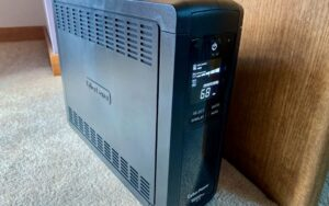 To ensure that you don't lose work during a power outage and that your Mac and peripherals aren't damaged by electrical spikes or drops, you need a UPS—an uninterruptible power supply. Here's what you need to know. | AustinMacWorks.com